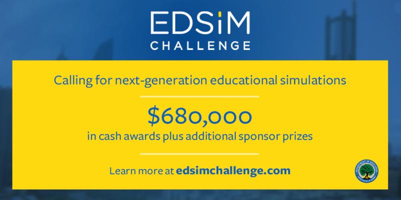 EdSim Challenge Launch_TwitterGraphic2
